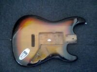 Stratocaster body - vintage 3 tone sunburst