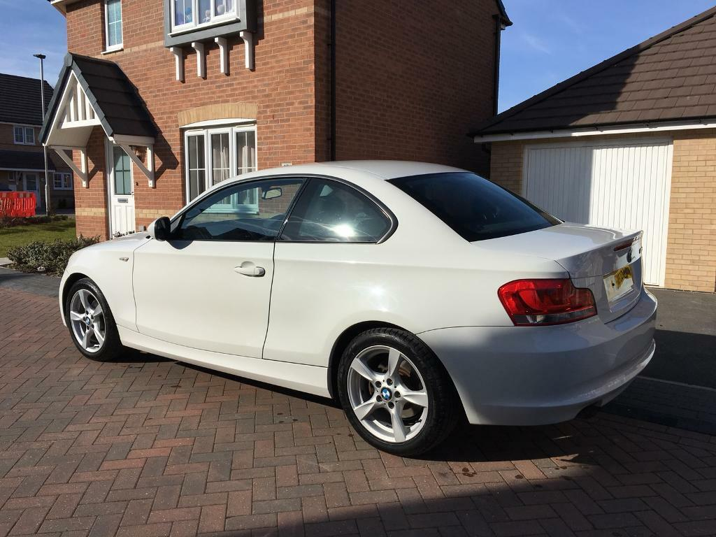 BMW 1 Series Coupe White 2012 | in Aston, South Yorkshire | Gumtree