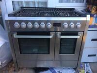 Range cooker AEG