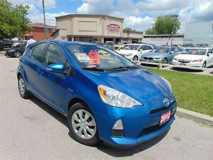 2012 Toyota Prius c HYBRID-DUAL DVD-ONE OWNER