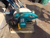 Makita 110 volt abrasive saw but no blade grab a bargain only £50