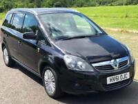 7 Seater Vauxhall Zafira 1.7 TD Excite 5dr Manual, 3 M Warranty, F S History, Long MOT, 1 P Owner