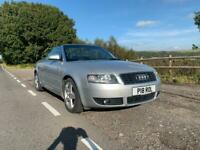 Audi A4 Cabriolet 3.0 V6 - 217bhp - Stunning example. Low mileage.