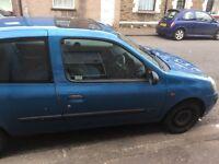 Spares or repair. Renault Clio. Cardiff
