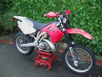 gas gas ec 250cc enduro bike 2001