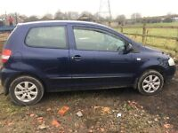 volkswagen urban fox 1.2 with Alloys cat c open to offers
