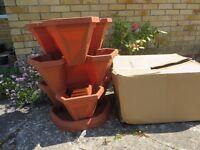 Garden Planter New, Terracotta Colour,