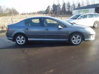 54 2004 PEUGEOT 406 1.6 SE HDI TOP SPEC DIESEL LONG MOT NEW BRAKES TYRES DRIVES SUPERB