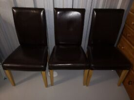 Dining table 3x chairs