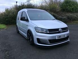 Vw caddy custom 2016 silver lods of extra NO VAT
