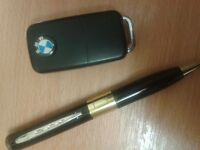 Spy bmw keyfob camera and pen and listening box