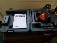 dewalt dw088k crossline laser level