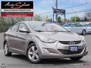 2012 Hyundai Elantra ONLY 92K! **SUNROOF** GLS MODEL **ALLOYS**