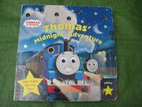 Thomas' Midnight Adventure Large Hardboard Book with Bright Flashing Stars