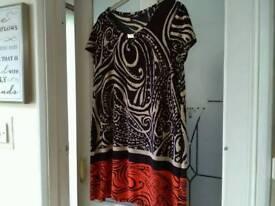 Wallis 14 dress top