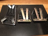 Steel-Plated Pedals with Rubber Grips