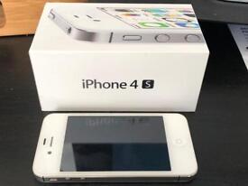 iPhone 4s White Unlocked. Pristine condition.