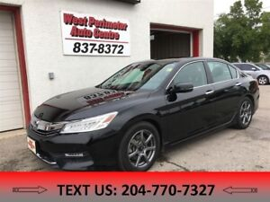 2016 Honda Accord Touring NAV, PWR MOONROOF, HTD LEATHER B-UPCAM