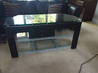 Glass TV Stand In immaculate condition - Free