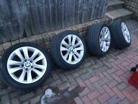 """4 x 17"""" bmw wheels"""