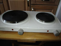 Micromark Double Cooking Plate White