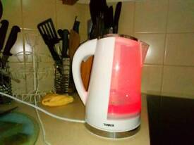 Colour changing kettle