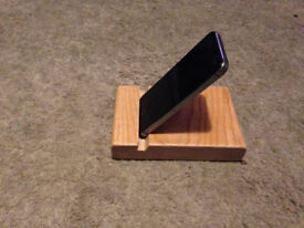 Phone Stand - Solid Wood