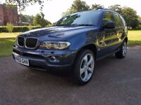 BMW X5 3.0D SE MANUAL 6 SPEED 2005 55, 82000 MILES, FULL SERVICE HISTORY WITH RECEIPTS,