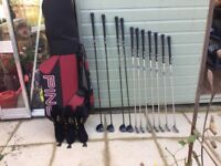 Ping Golf clubs and Ping Golf Bag