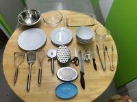 Kitchen Utensil & Crockery Set