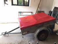 Brenderup Bravo 170cm trailer, with cover, VGC condition