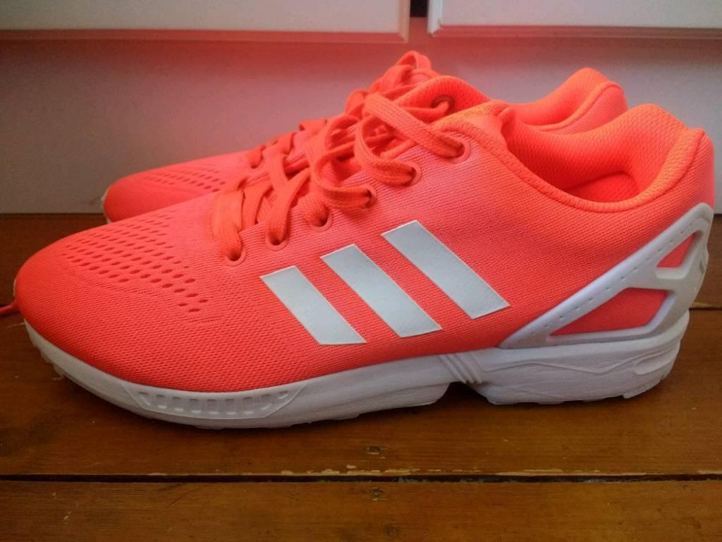 nouveau produit c7b0a 2b9e6 Adidas Zx Flux Orange/Coral Size 10 | in Hemel Hempstead, Hertfordshire |  Gumtree