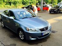 LEXUS IS220D MINT CONDITION 8 MONTH MOT EXCELLENT DRIVE WITH FULL HISTORY (is 220 is 220d is220)