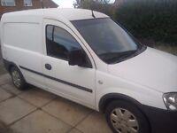 For sale Vauxhall combo van 1.3, white 2006