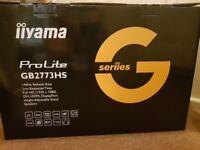 iiyama ProLite GB2773HS 144 HZ,1 ms response Time 27 inches