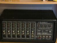 Peavey MP600 200 watt mixer amp.