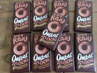 Ombar 72% Cacao Chocolate Bars 9 x 35g bars