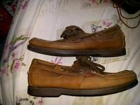 Timberland men's deck shoes sizes 10