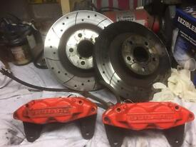 Subaru Impreza wrx front brake calipers and discs