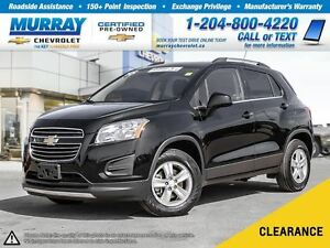 2016 Chevrolet Trax LT *All Wheel Drive, OnStar, Remote Start*