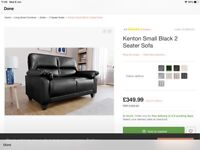 2 Seater Sofa. AS NEW