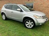 AUTOMATIC 4x4 NISSAN MURANO - LONG MOT - LEATHER - SAT NAV - FULLY LOADED