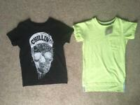 2 new boys size 4 next tshirts 1 bnwt 1 bnwot