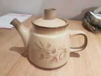 Vintage Denby teapot from 'Memories' range