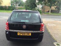 Vauxhall zafira 59 plate 1.6 petrol full service history 1 Year MOT