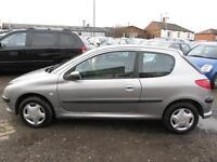 PEUGEOT 206 1.4 S 3dr Tip Auto [AC] (grey) 2004