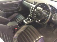 VOLKSWAGEN CC 2.0 GT TDI BLUEMOTION TECHNOLOGY DSG 4d AUTO 138 B (white) 2012