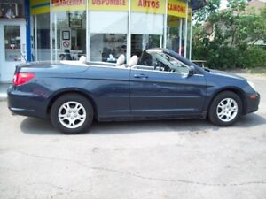 2008 Chrysler Sebring  LX convertible garantie 1 an incluse