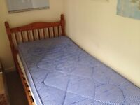 Single Bed with Mattress - in good condition