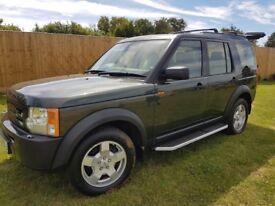 Land rover discovery 3 tdv6 s 2005 05 161,000miles 6 speed gear box 7 seater 1 years MOT